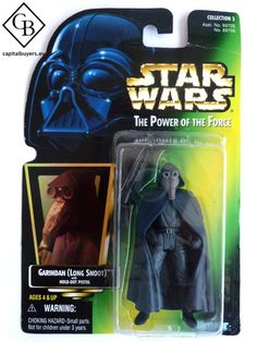 Star Wars - The Power of the Force - Garindan (Long Snoot) - Figura 10cm / 4
