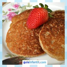 Quinoa and banana pancakes. Dessert recipes for children .- Quinoa and banana pancakes. Dessert recipes for children Healthy Vegan Desserts, Raw Food Recipes, Sweet Recipes, Dessert Recipes, Cooking Recipes, Gluten Free Bakery, Good Food, Yummy Food, Yummy Yummy