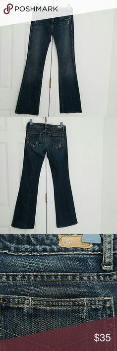 """Paige Jeans Laurel Canyon size 26 Paige Jeans size 26.  30""""inseam.good overall condition. Original hem.bootcut. Paige Jeans Jeans"""