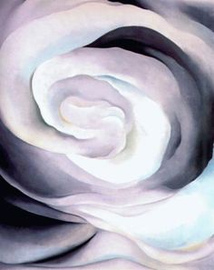 Georgia O'Keeffe. Abstraction White Rose