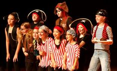 A Motley Crew of Pirates from ArtReach's A Christmas Peter Pan!