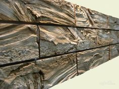 Одноклассники Wall Texture Design, Stone Wall Design, Wood Design, Fake Stone Wall, Faux Stone, Swimming Pool Waterfall, Building Stone, Architectural Sculpture, Diy Furniture Easy