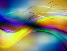 Beautiful iridescent colors glow in this ribbons and waves abstract background – vector EPS. Abstract Backgrounds, Colorful Backgrounds, Waves Vector, Banner Background Images, Borders And Frames, Flags Of The World, Free Vector Graphics, Photoshop Photography, Graphic Design