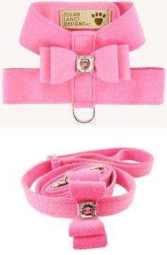 Designer Dog Harness, Best, Soft, Walking, Fancy, Pink, Small, Teacup, Puppy❤❤❤