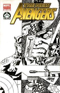 H.E.R.O.Avengers charity cover by Devilpig.deviantart.com
