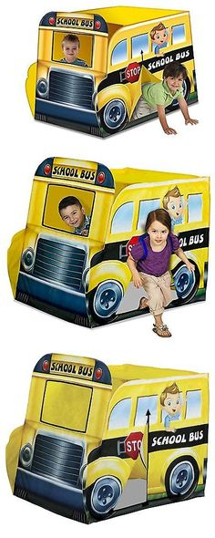 Play Tents 145997 Playhut School Bus Vehicle -u003e BUY IT NOW ONLY $30.38  sc 1 st  Pinterest & Play Tents 145997: Play Tent Ninja Turtles Vehicle Kids Toddlers ...