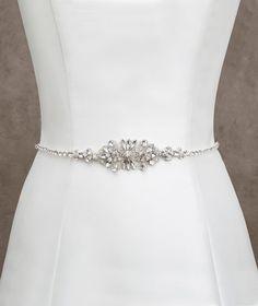 Online Cheap Fashionable Bridal Sashes And Belts Wedding Dress Sash For Wedding Beaded Rhinestone Crystal Wedding Belt Cheap By Faithfully | Dhgate.Com