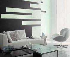 Decorando las paredes con pintura metalizada : PintoMiCasa.com