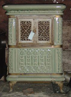 Ceramic Wood-Burning Stoves | ceramic stoves » French ceramic wood- burning stove