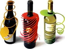These might be a fun, whimsical way to decorate wine if I decide to offer it (since it will be mostly adults?)