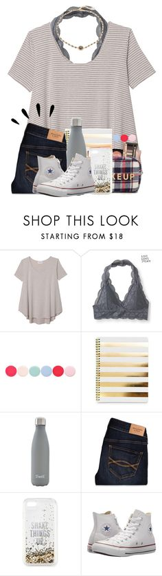 """You're the cheese to my macaroni"" by cassieq6929 ❤ liked on Polyvore featuring Olive + Oak, Aéropostale, Nails Inc., S'well, Abercrombie & Fitch, Old Navy, Kate Spade, Converse and Ela Rae"