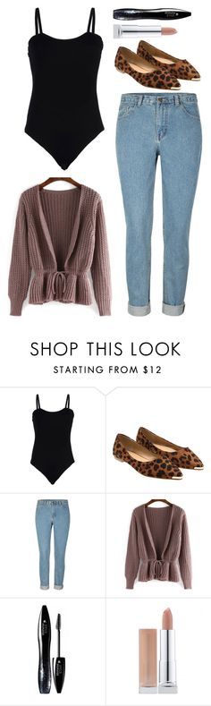 """""""Me"""" by ellelovesfashion07 ❤ liked on Polyvore featuring moda, Baguette..... y Lancôme"""