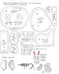 FREE BUNNY PATTERN N TUTORIAL by ~sengster