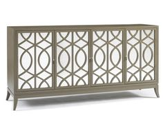 Mirrored Sideboard | Great Gatsby Glamour | House & Home