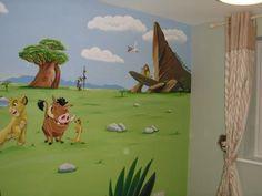Lion King Mural www.custommurals.co.uk