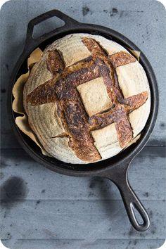 Sourdough Recipes, Easy Bread Recipes, Sourdough Bread, Pan Bread, Bread Baking, Kenwood Cooking, German Bread, Food Carving, How To Make Bread