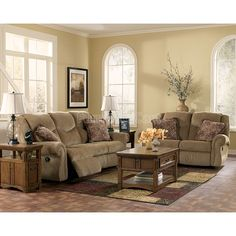 McElroy - Topaz Reclining Living Room Set