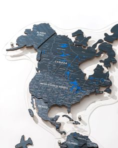 3D Wooden World Map by GaDenMap. Color: DEEP OCEAN. Wood World Map is a unique wall décor idea for your home! World Travel Map, Push Pin Map, Travel Map with Pins. Wood World Map can be used as a travel map. Pin board for your ideas, business development places, travel destination and just random notes of happiness. Large wall art decor and a place for inspiration! #worldmap #homedecorating #wallart
