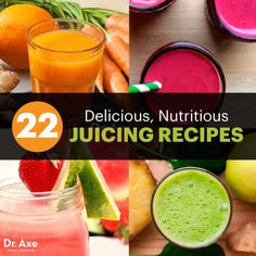 Juicing recipes - Dr. Axe http://www.draxe.com #health #holistic #natural