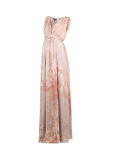 Looking for a maternity occasion dress that doesn't break the bank? Thanks to Isabella Oliver for this Lexington Silk Maternity Maxi Dress. $211 (reg$529)