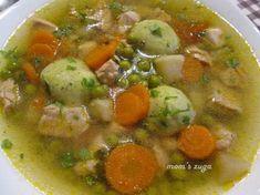 Soup Recipes, Cooking Recipes, Hungarian Recipes, World Recipes, Chana Masala, Cheeseburger Chowder, Bacon, Food And Drink, Healthy Eating