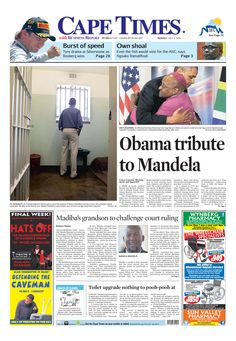 Obama tribute to Mandela