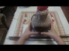 Курочка- шкатулка. ч.1 - YouTube Cutting Board, Grid, Youtube, Hens, Cutting Boards, Youtubers, Youtube Movies