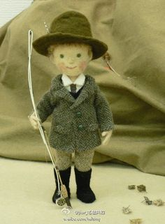 The gentleman fisherman....felted