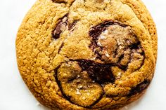 Brown Butter and Toffee Chocolate Chip Cookie Recipe - www.iamafoodblog.com