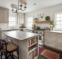 Website Says It S Sherwin Williams Plymouth Rock But Can T Find On Sw Site I Think Is Benjamin Moore Love This Kitchen Finished