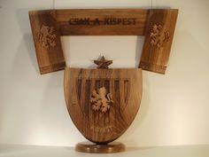 Budapest Honvéd crest by Ervin Horn