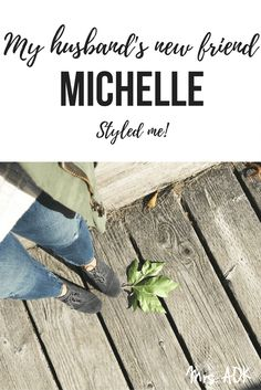 My husband's new friend, Michelle, has style. She actually styled me! I'm not jealous of her, at all, I'm actually quite fond of her. She's my... stylist!! That felt really fancy to write. I'm not fancy at all, but Stitch Fix has me feeling all fancy. Check out my FALL fix.