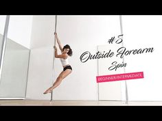 15 Pole Dance Spins into Climbing from Beginners to Advanced - YouTube