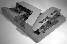 conjunto de viviendas - maqueta