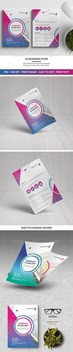 A4 Corporate Flyer 02 - Corporate Flyers
