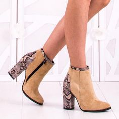 Botine Dama Mely 3 Bej Booty, Ankle, Shoes, Fashion, Moda, Swag, Zapatos, Wall Plug, Shoes Outlet