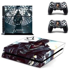 Assassin's Creed Sony PS4 Console Skin Sticker