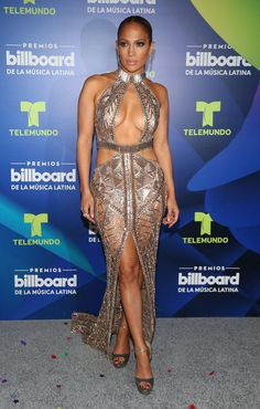 Jennifer Lopez Knocks Red Carpet Gown Out Of The Park At Billboard Latin Music Awards | HuffPost