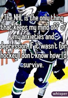 Community: 12 Hockey Confessions Discovered on Whisper