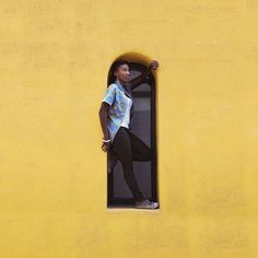 Yellow wall | VSCO Cam