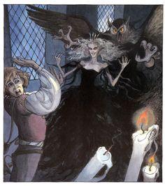 çizgili masallar: Swan Lake by Trina Schart Hyman Fairy Tale Projects, Fairy Tale Costumes, Art Story, Story Books, Lake Art, Vintage Fairies, Fairytale Art, Fantasy Illustration, Swan Lake