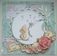 Good morning, and welcome to another Penny Black Saturday Challenge . Thanks as always to everyone who entered last week - how adorable wer. Penny Black Cards, Penny Black Stamps, Black Saturday, Stepper Cards, Whimsy Stamps, Kids Cards, Baby Cards, Holiday Pictures, Get Well Cards