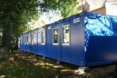 CTX office cabins as temporary church, GB-Belfast