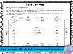 Does your school do field day? Our grade level does one every year. It's so much fun for the kids and a great way to build grade level community. Something that I know has been a help on our team each year is to have a great plan early. Field Day Activities, Field Day Games, Pe Activities, Summer Activities, Feild Day, Track And Field Events, Elementary Pe, Pe Teachers, Family Fun Night