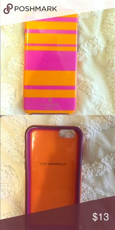 kate spade phone case iPhone 6 🚭 All items are from a non-smoking home. 👆🏻Item is as described, feel free to ask questions. 📦 I am a fast shipper with excellent ratings. 👗I am open to offers. 😍 Like this item? Check out the rest of my closet! 💖 Thanks for looking! kate spade Accessories Phone Cases