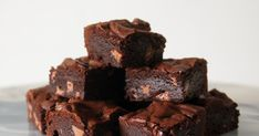 Baby-Batch Buckwheat Brownies! This recipe makes a small batch of the richest, most luscious chocolate brownies! Incidentally gluten free, ... Small Batch Baking, Mini Loaf Pan, Chocolate Buttons, Brownie Ingredients, Chocolate Brands, Buckwheat, Chocolate Brownies, Cooking Time, Gluten Free