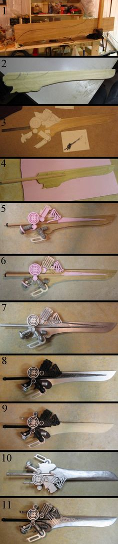 Noctis Sword Step-by-Step Cosplay Weapons, Cosplay Armor, Cosplay Diy, Cosplay Makeup, Belle Cosplay, Final Fantasy, Steampunk Weapons, Costume Tutorial, Prop Making