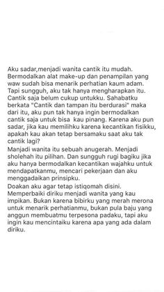 Quotes Rindu, Text Quotes, Daily Quotes, Words Quotes, Life Quotes, Islamic Inspirational Quotes, Islamic Quotes, Cinta Quotes, Wattpad Quotes