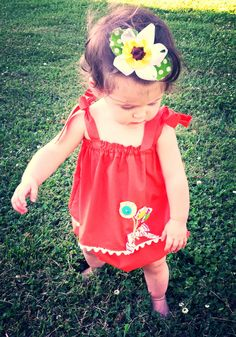 Girls Toddler Sunsuit 2 pc. child's Top & by MYSWEETCHICKAPEA, $45.00