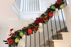 How to make a Staircase Garland –